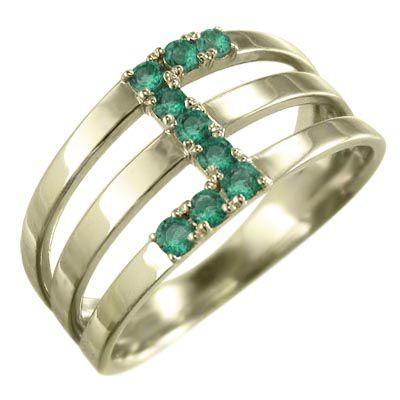 【即発送可能】 k10イエローゴールド 指輪 エメラルド 3連 5月誕生石 エメラルド 指輪 3連, ハナマキシ:fa51f9b6 --- airmodconsu.dominiotemporario.com