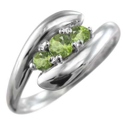 日本最大の 指輪 3ストーン ヘビ 3ストーン ヘビ ペリドット 指輪 ホワイトゴールドk10, 子供服ベビー服通販 タンタン:f4df6a7d --- airmodconsu.dominiotemporario.com