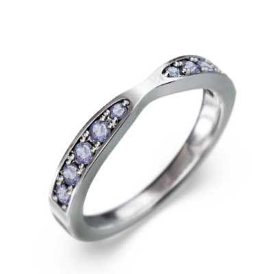 【格安saleスタート】 指輪 タンザナイト 18金ホワイトゴールド 12月誕生石, キタシゲヤスチョウ f70849c7