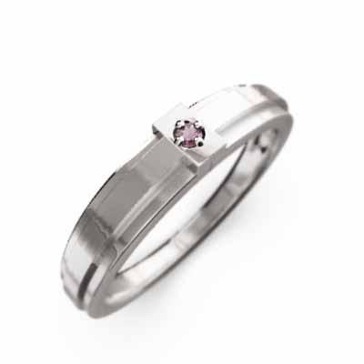 【在庫限り】 指輪 デザイン 一粒 クロス デザイン 指輪 ピンクトルマリン 10月誕生石 ピンクトルマリン k18ホワイトゴールド, DABADAストア:fb32f716 --- airmodconsu.dominiotemporario.com
