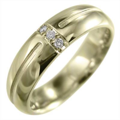 今年も話題の K10 丸系 リング 甲丸 天然ダイヤモンド 約5mm幅, オオセトチョウ 99f0d1ea