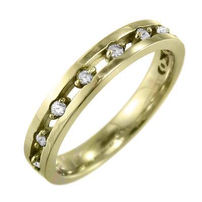 当社の 指輪 k18 ダイアモンド 4月誕生石 9ピース, オグニマチ 5e4a9132