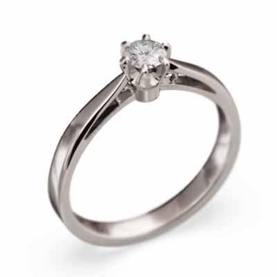 最上の品質な オーダーメイド 婚約 指輪 k18ホワイトゴールド 天然ダイヤモンド 4月誕生石, マリーファージュ 6babb816