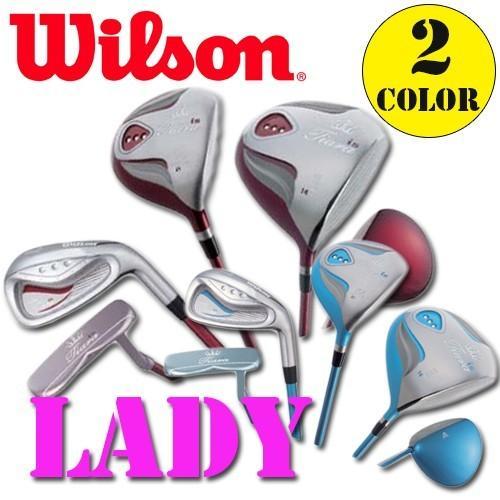 ウィルソンレデイースティアラ ハーフセット6本 1w、4w、#7i、#9i、SW、PT 日本正規品