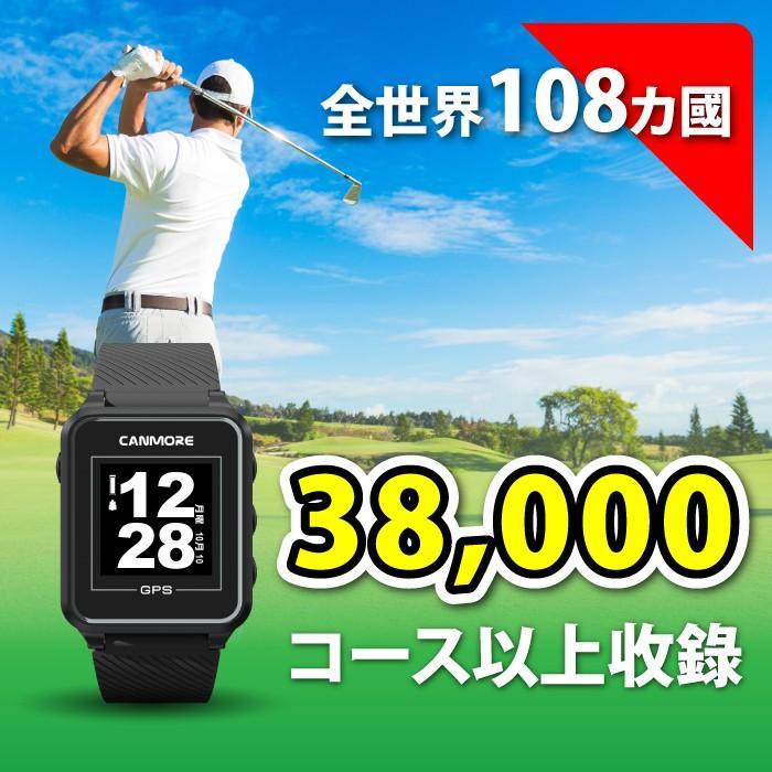 [CANMORE] 多機能GPSゴルフウォッチ 飛距離測定 グリーン/ハザード距離表示 スコアカード機能 マルチ機能GPSゴルフ腕時計 日本語マニュアル TW-353