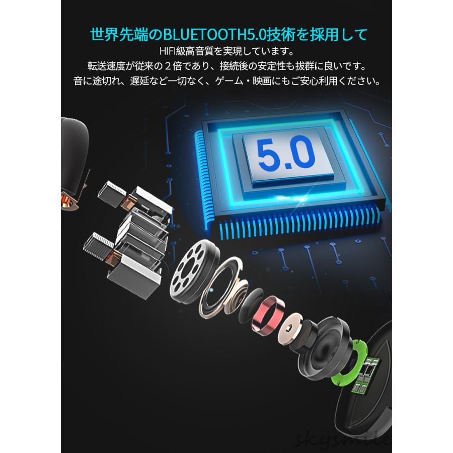 【即納】【日本語説明書付き】ワイヤレスイヤホン ブルートゥース bluetooth5.0 無痛装着 片耳用 超小型 ハンズフリー通話 iPhone android対応 skysmile 04