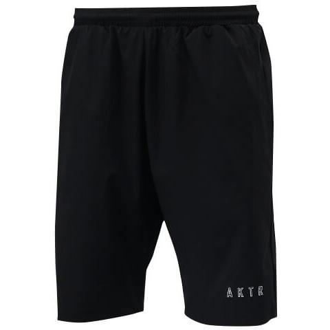 【セール】AKTR Linelogo Shorts(アクター ラインロゴ ショーツ) 黒