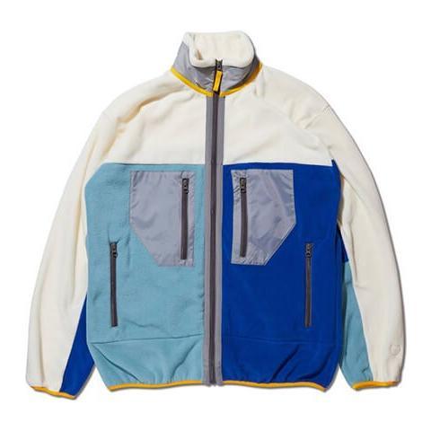 AKTR Fleece Jacket(アクター フリース ジャケット) 白
