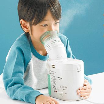 パナソニック のど鼻 スチーム吸入器 EW-6400P 蒸気 ナショナル 喉 はな おやすみ前 花粉症 対策 はなづまり はなムズムズ のどイガイガ Panasonic スチー sleeproom 02