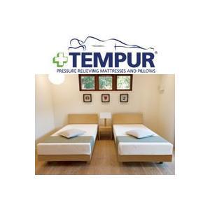 正規品 テンピュール(R) Natur ナトゥア 木製ベッドセット クイーンサイズ (組合せマットレス:コントゥアリュクス30 160×195×30cm) tempur