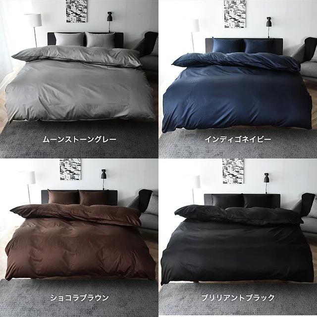 ボックスシーツ クイーン サテン ベッドシーツ シルクのような肌触り 防ダニ 日本製 マットレスカバー ノーブル|sleeptailor|11