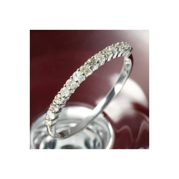 ★大人気商品★ K10ダイヤリング 指輪 エタニティリング 15号, 直輸入価格のルース屋さん 07630e59