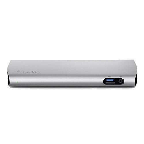 BELKIN (ベルキン) Thunderbolt 3 Express Dock HD (0.5m Thunderbolt 3ケーブル付)サンダーボルト ドッキングステーション【国