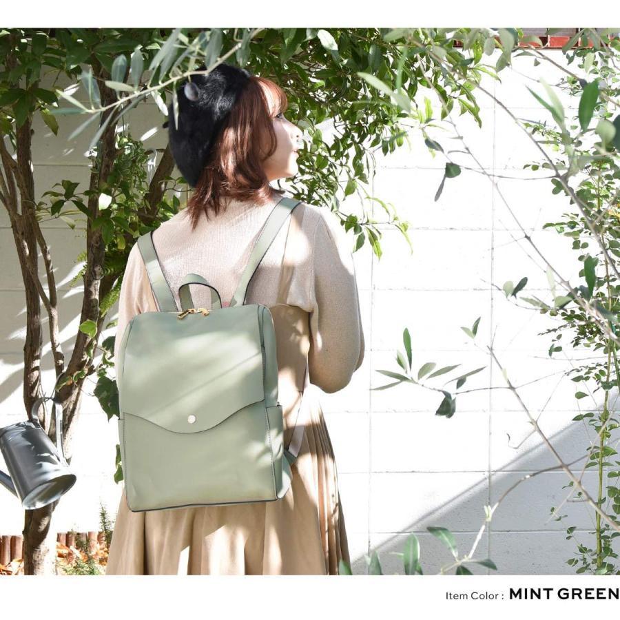 かるいかばん リュック バッグ レディース おしゃれ 軽い 軽量 大容量 a4 通勤 通学 女子 旅行 大人 リュックサック 主婦 ママ かわいい グレー lg-p0114|slowfine|14