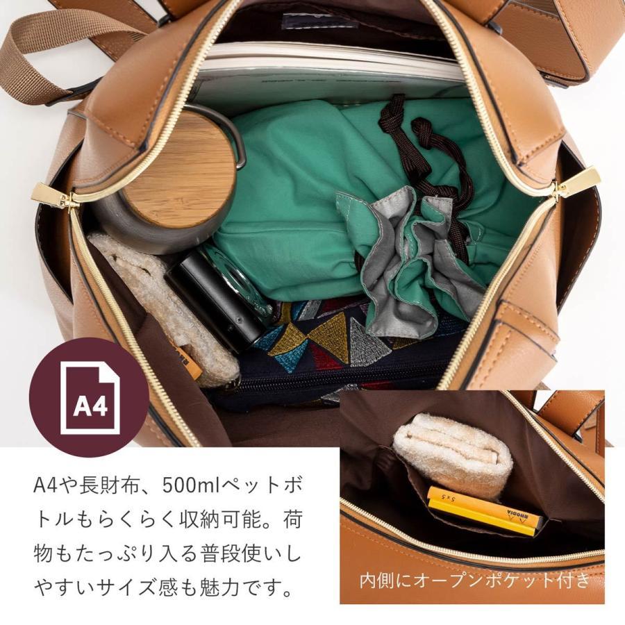 かるいかばん リュック バッグ レディース おしゃれ 軽い 軽量 大容量 a4 通勤 通学 女子 旅行 大人 リュックサック 主婦 ママ かわいい グレー lg-p0114|slowfine|17