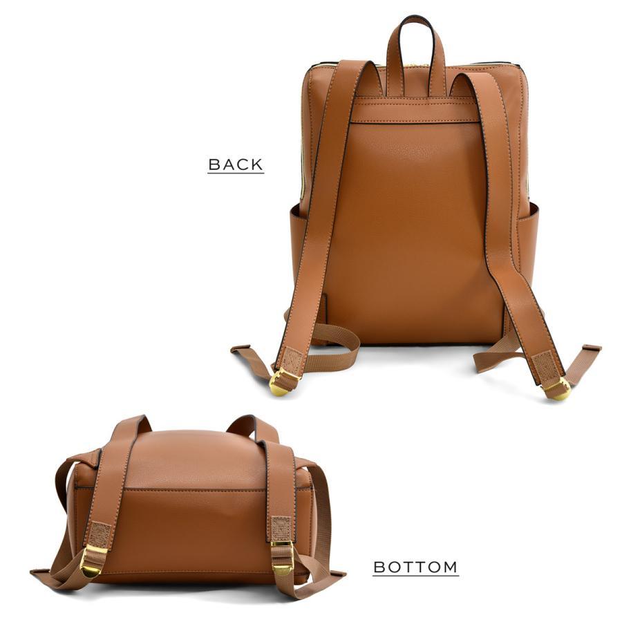 かるいかばん リュック バッグ レディース おしゃれ 軽い 軽量 大容量 a4 通勤 通学 女子 旅行 大人 リュックサック 主婦 ママ かわいい グレー lg-p0114|slowfine|19