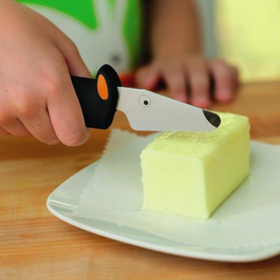 包丁 子供用 安全 ナイフ こども 子ども 料理 おしゃれ かわいい お祝い 女の子 男の子 誕生日 クーンリコン キッチンナイフ 波刃 メール便対象品|slowworks|09