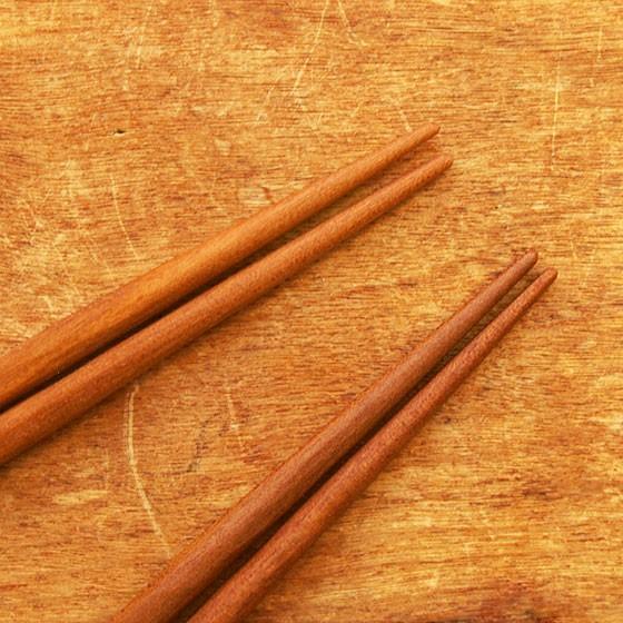 箸 子供 木製 天然オイル 日本製 トレーニング 日本製 オイル仕上げ 桜 こども箸 13cm 15cm メール便対象品|slowworks|04