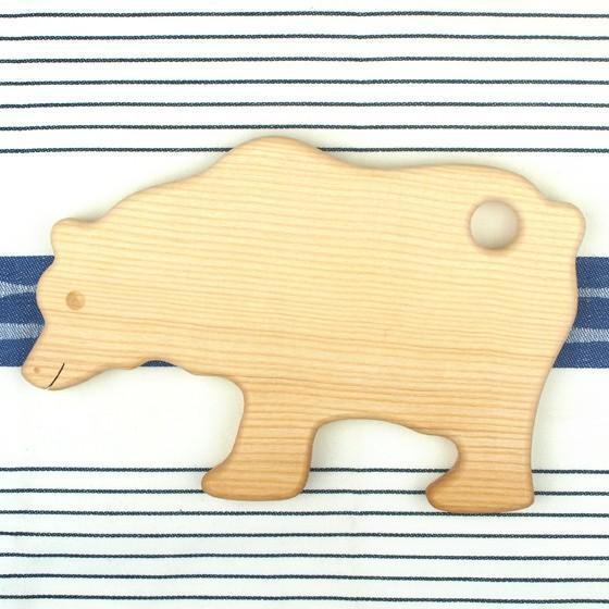ドイツ製 アニマルシェイプ 木製 カッティングボード まな板 トレー キッチン 雑貨 かわいい パン おしゃれ ナチュラル パーティー|slowworks|04