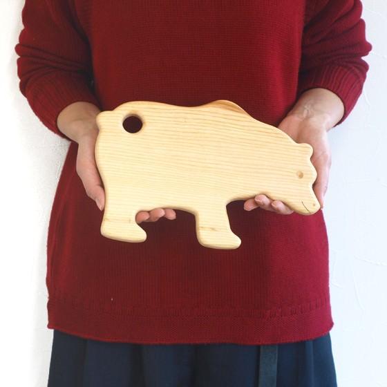 ドイツ製 アニマルシェイプ 木製 カッティングボード まな板 トレー キッチン 雑貨 かわいい パン おしゃれ ナチュラル パーティー|slowworks|08