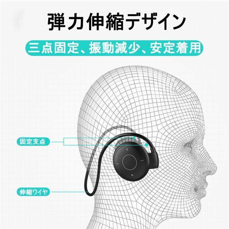 ブルートゥースイヤホン Bluetooth 5.0 ワイヤレスイヤホン ラジオ機能付き ネックバンド型 無痛装着タイプ ヘッドセット 最高音質 マイク内蔵 超長待機 slub-shop 06