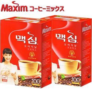 東西食品 Maxim マキシム オリジナル コーヒーミックス スティック 200包|smafy