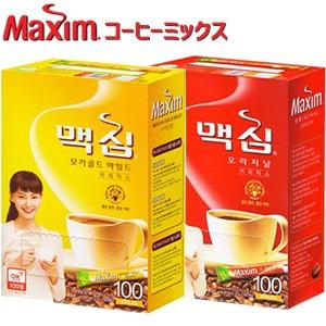 東西食品 Maxim マキシム オリジナルコーヒー100包&モカゴールド100包|smafy