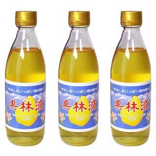 果林液 花梨 マルメロ 濃縮液 三倍希釈用 360ml×3本 のどにやさしい 清涼飲料水|smafy