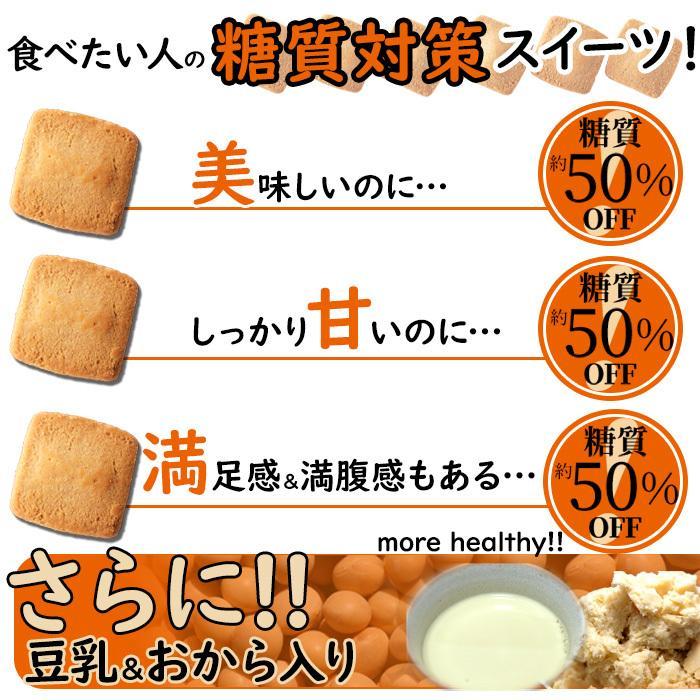 豆乳&おから入り 糖質約50%OFFクッキー200g(プレーン味)|smafy|05