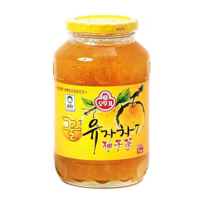 はちみつゆず茶 ビタミンC ゆず茶 甘味 美味しい (オトギ 蜂蜜柚子茶 1kg) 果肉入り まとめ買い|smafy