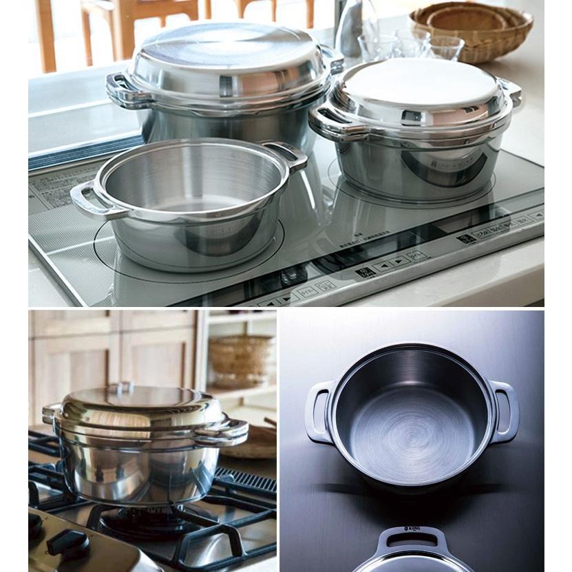 KING無水鍋18 キング無水鍋 18cm /HALムスイ  /P15倍/特典付(ZK) smart-kitchen 05