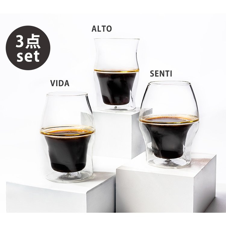 コーヒーグラス 3点セット AVENSI/P2倍(ZK) smart-kitchen 02