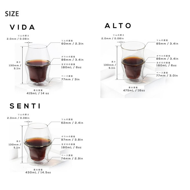コーヒーグラス 3点セット AVENSI/P2倍(ZK) smart-kitchen 09
