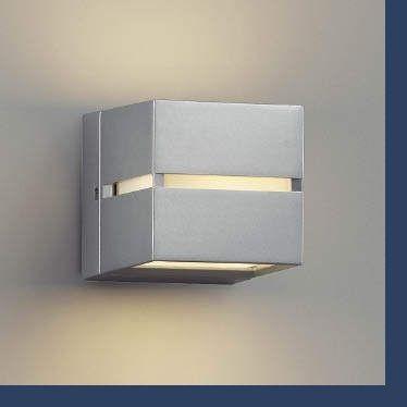 エクステリア 防雨型 照明器具 照明器具 LED おしゃれ AU35033L 屋内外兼用 門柱灯 据置取付可能 電球色 白熱球40W相当 上下面照射 玄関 ポーチ 門柱