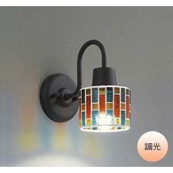 ブラケットライト 壁掛け 照明器具 LED おしゃれ モザイクガラス 電球色 電球色 屋内用 LED電球 60W相当 調光 モザイク