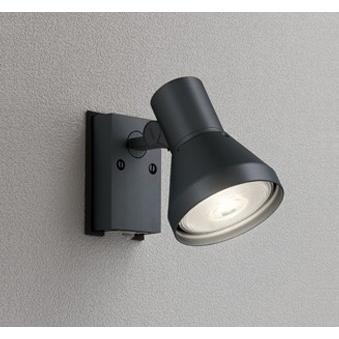 エクステリア 屋外灯 屋外灯 照明器具 LED おしゃれ 屋外スポットライト ブラック 電球色 防雨型 LED電球 ビーム球150W相当 調光器不可 人感センサ付