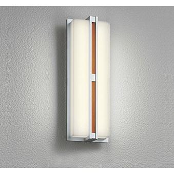 エクステリア 屋外灯 照明器具 LED おしゃれ 木調 木調 電球色 防雨型 LED一体型 60W相当 調光器不可 人感センサ付