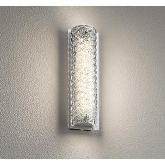 エクステリア 屋外灯 照明器具 LED おしゃれ クリンカガラス 電球色 防雨型 LED一体型 60W相当 調光器不可 人感センサ付 手造り