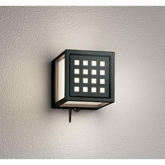 エクステリア 照明器具 LED おしゃれ シンプル キューブ 格子 電球色 電球色 防雨型 LED一体型 60W相当 青tooth対応 人感センサー付