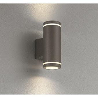 ブラケットライト 壁掛け灯 照明器具 LED おしゃれ おしゃれ ランプ別売 シンプル ポーチライト ライン状発光 マットシルバー 防雨型 シンプル ダークウォームグレー