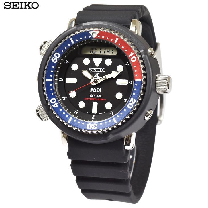 SEIKO セイコー 腕時計  SNJ027P1 プロスペックス PROSPEXアナデジ アーノルド アーニー ダイバースキューバ メンズ 逆輸入 海外モデル smart2003