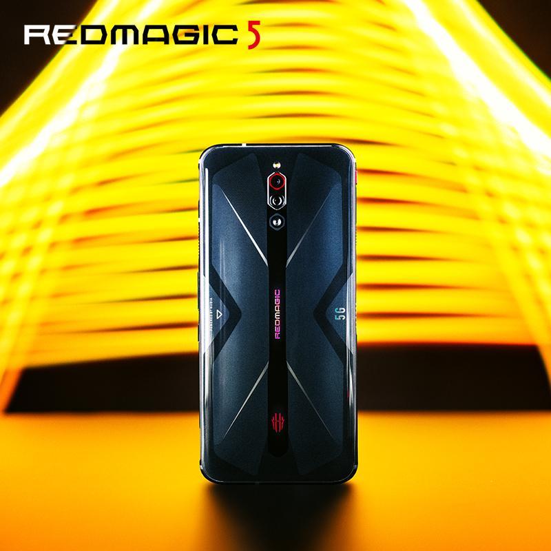 NUBIA RedMagic 5 最新 スマホ ブラック 指紋認証 高速充電 スマホ本体 コスパ最高 高性能 12G+128G 6400万画像 4500mAH ターボファン3.0搭載 認証済み