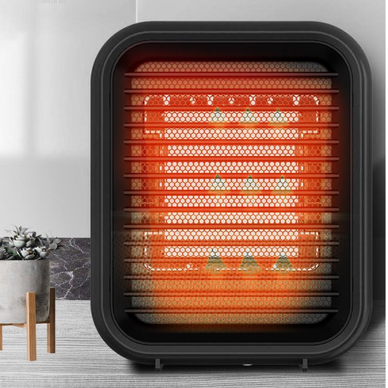 セラミックファンヒーター 800W 2秒速暖 防寒 暖房器具 電気式 足元  省エネ オフィス 家 暖かい 寒さ対策 静音 安全装置 卓上 手軽 小型 おしゃれ PSE取得済 smartcool 02
