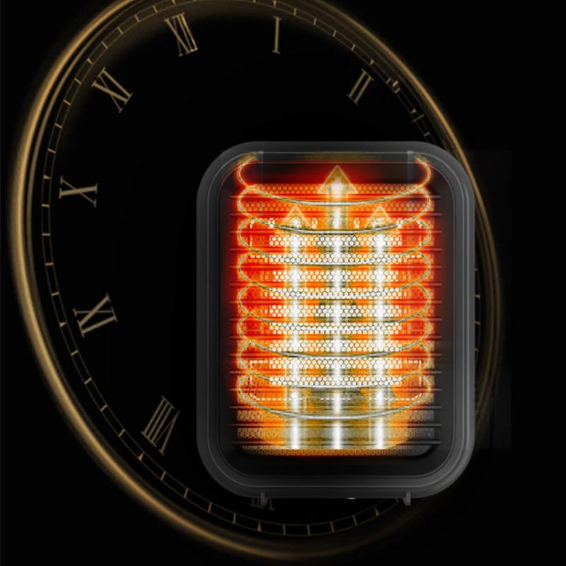 セラミックファンヒーター 800W 2秒速暖 防寒 暖房器具 電気式 足元  省エネ オフィス 家 暖かい 寒さ対策 静音 安全装置 卓上 手軽 小型 おしゃれ PSE取得済 smartcool 05