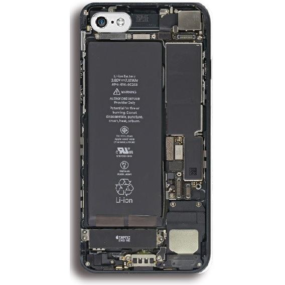 iPhone7中身スケルトン ハードケース 全機種対応 iPhone7 iPhone7Plus iPhone6 6s 6plus SE Xperia Galaxy S7edge|smartgadget