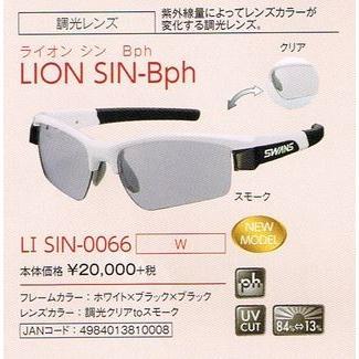 スワンズサングラス SWANS LION Series 「ライオン シン」調光 サングラスLI-SIN-0066