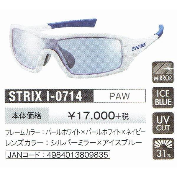 スワンズサングラス swans STRIX・I-M ストリックス・アイ STRIX-I-0714