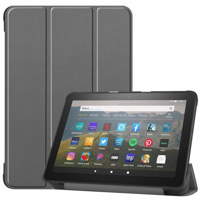 amazon Fire HD 8 2020 ケース Fire HD 8 Plus カバー HD8 Plus 2020年発売 2020年モデル 3点セット 保護フィルム タッチペン おまけ フィルム スタンドケース|smartnet|07