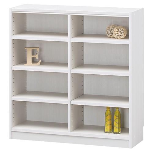 白井産業 木製棚タナリオ 木製棚タナリオ TNL-9087 ホワイト お客様組立