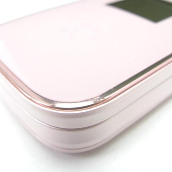 携帯電話 docomo 白ロム  F-01G らくらくホンベーシック4 ピンク